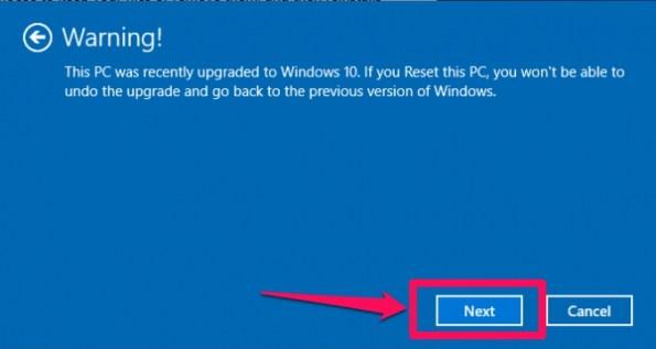 Windows Laptop Ko Kaise Reset Kare step 6