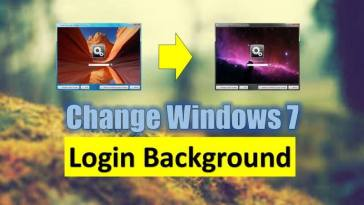 Windows 7 Login Background Change Kaise Kare (कैसे करे )?