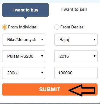 fill Bike Details