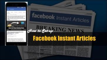 Facebook Instant Article Kya hai (क्या है) इससे पैसे कैसे कमाए?