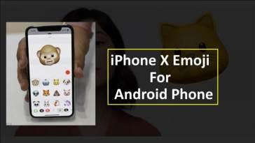 iPhone X Face Emoji Android Phone Par Kaise Banaye(पर कैसे बनाये)?