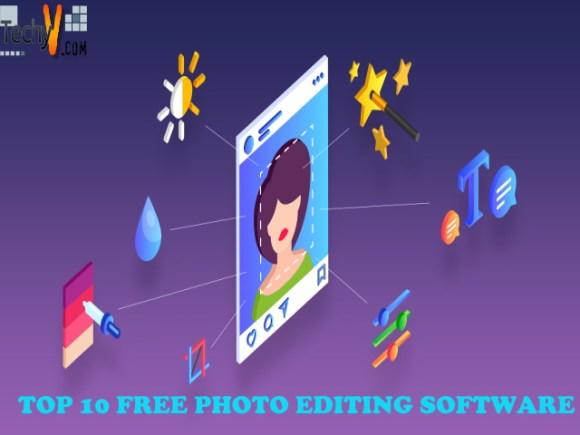 Top 10 Free Photo Editing Software - Techyv.com