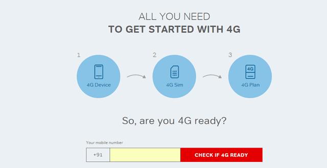 Upgrade to Airtel 4G free