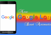 Set New Google Logo as Android Boot Animation