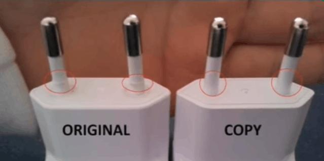 samsung galaxy original charger vs fake