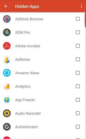 Unhide Apps on Launcher