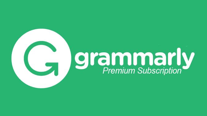 Grammarly Premium Account Free