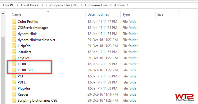 Fix Adobe Installer Failed to Initialize