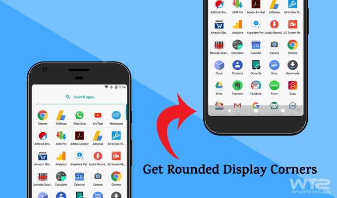 Get LG G6's Rounded Display Corners on Any Android