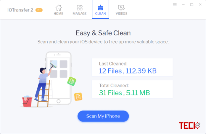 IOTransfer 2 Pro Cleaner