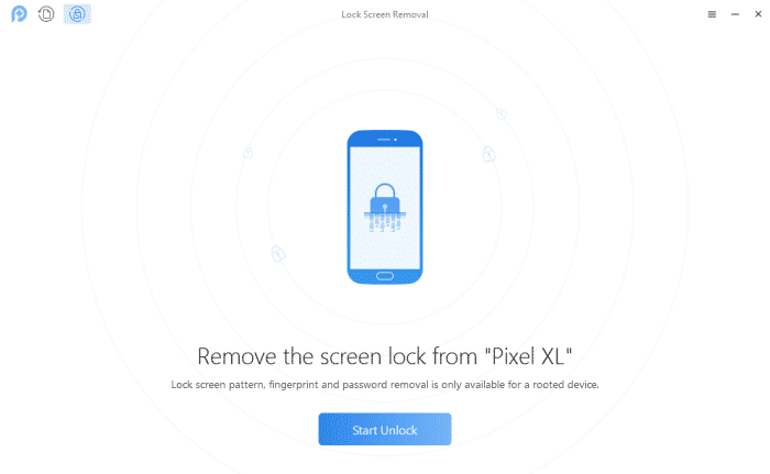 PhoneRescue Lock Screen Removal