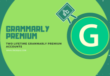 Grammarly Premium Free Lifetime Accounts