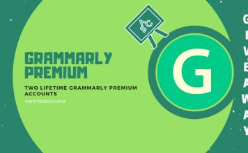 Grammarly Premium Free Lifetime Accounts
