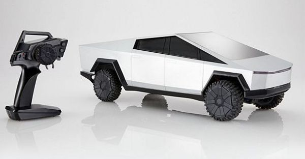 Sizzling Wheels declares a remote-controlled Tesla Cybertruck - TechZimo