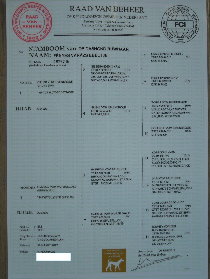 Stamboom site