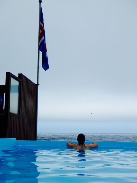 Hotpool in iceland
