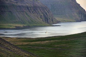 Tecla on a sailing adventure in Iceland