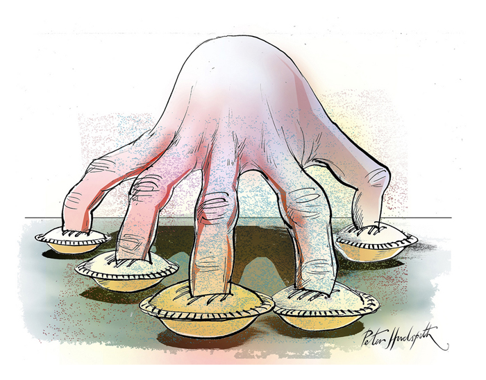 Image result for fingers in pie