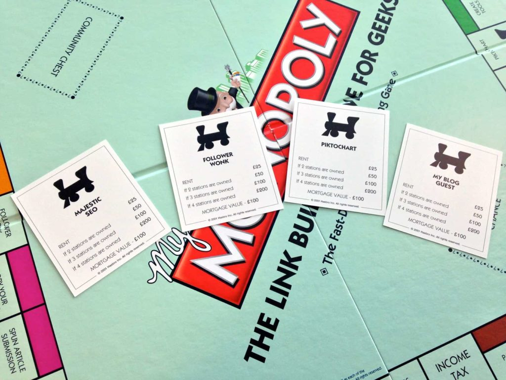 Link Building Monopoly Yes For Real Tecmark