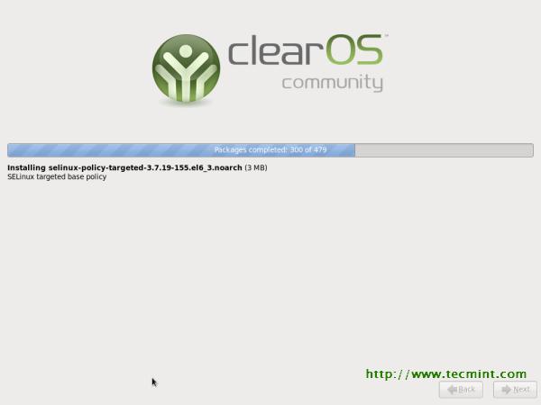 ClearOS 6.3 Installation