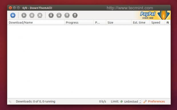 DownThemAll Firefox Plugin