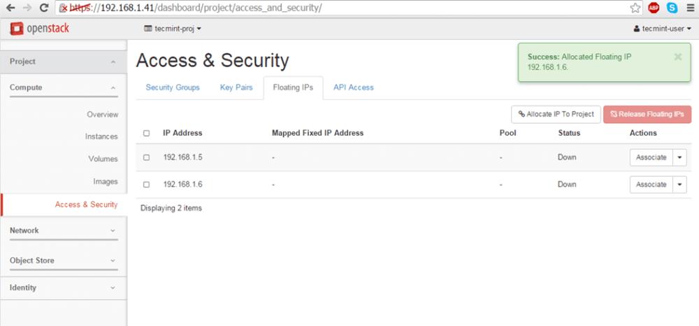 Yüzen IP Ekleme Onayı