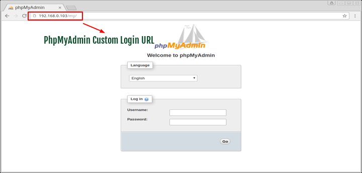 How To Change And Secure Default PhpMyAdmin Login URL