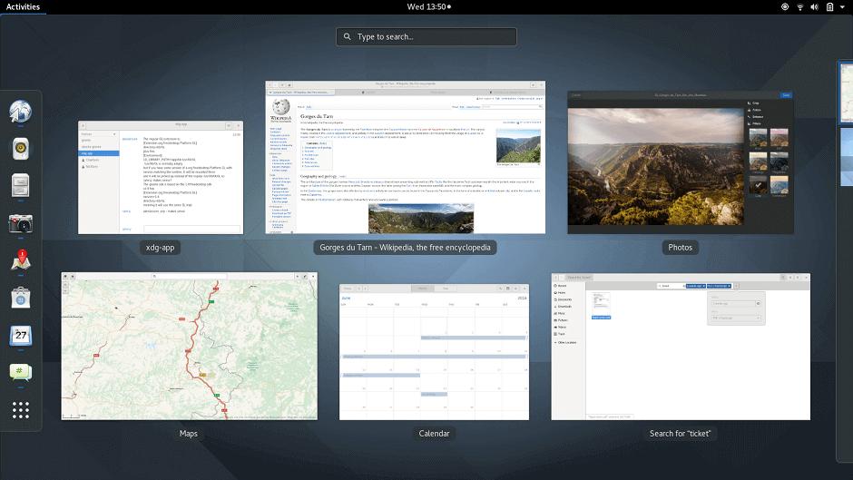 Gnome 3 Desktop Environment for Linux
