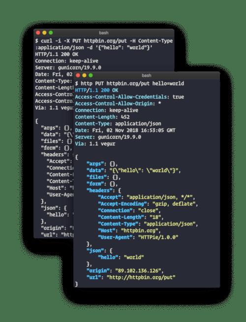 HTTPie - A Command Line HTTP Client