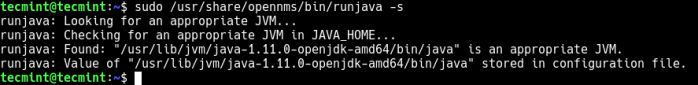 Integrate Java with OpenNMS