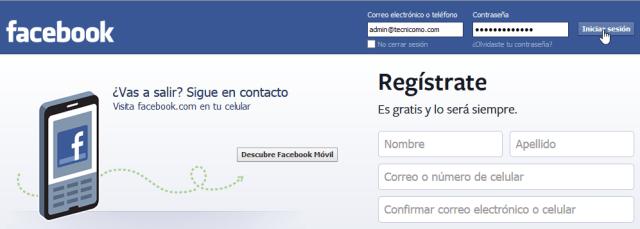 Cómo crear tu propia página de Facebook -  Ingresa a Facebook