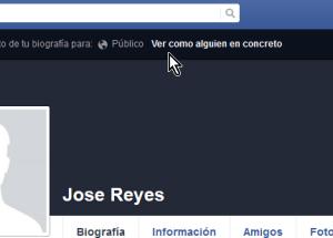 Cómo ver tu perfil de Facebook como otra persona lo ve