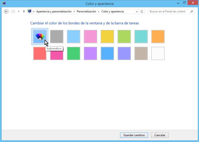 Cómo cambiar los colores de los bordes de las ventanas en Windows - Escoge tu color favorito