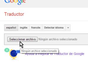 Cómo traducir documentos con el traductor de Google