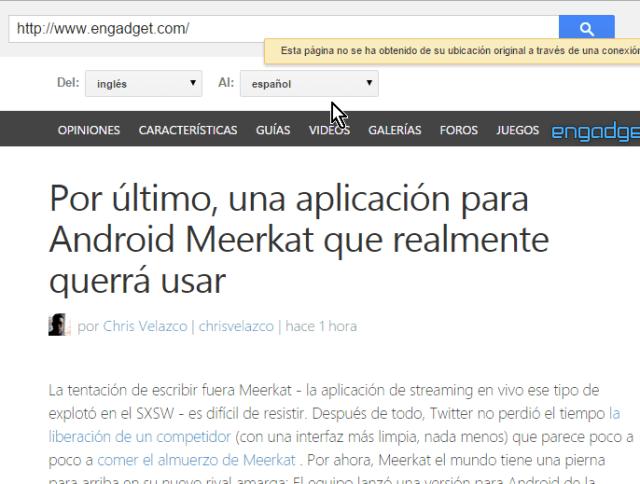 Detección y selección de idioma a traducir en cómo traducir páginas web con el traductor de Google