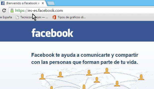 como abrir el facebook