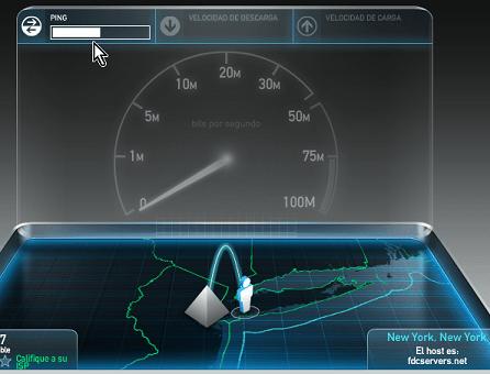Prueba de Ping een cómo medir la velocidad de tu Internet
