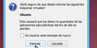 Mensaje para confirmar reiniciar cuando usas el teclado en cómo reiniciar una máquina virtual en VirtualBox