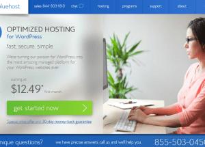 Análisis de los planes de alojamiento para WordPress de BlueHost