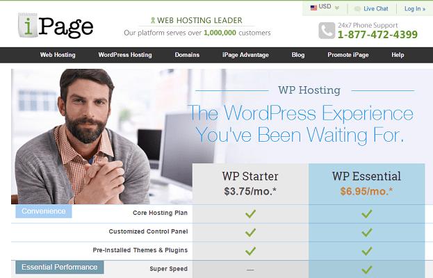Análisis de los planes de alojamiento o hosting para WordPress de iPage