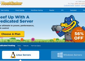 Análisis de los servidores dedicados Linux ofrecidos por HostGator