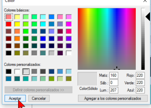 Cómo cambiar el color de fondo del Escritorio de Windows 10
