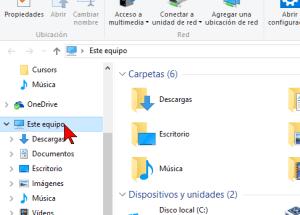 Cómo deshabilitar Acceso rápido en el Explorador de archivos en Windows 10