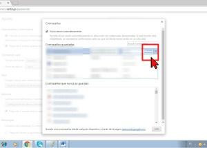 Cómo mostrar las contraseñas en Google Chrome
