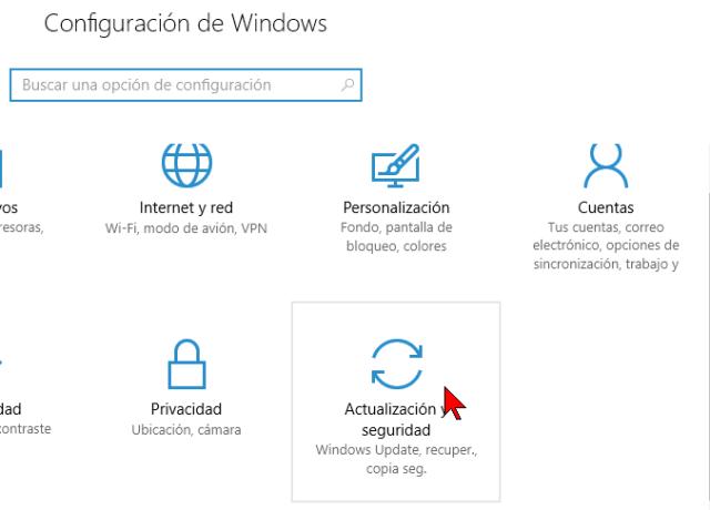 Actualización y seguridad en cómo activar el modo de programador en Windows 10