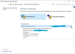 Cómo hallar contraseñas usando el Administrador de credenciales de Windows 10