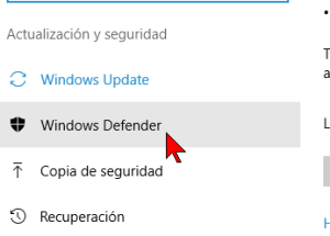 Cómo desactivar el antivirus Windows Defender en Windows 10
