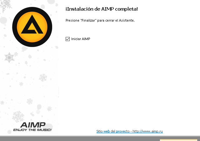 Cómo descargar e instalar el reproductor de música AIMP en español