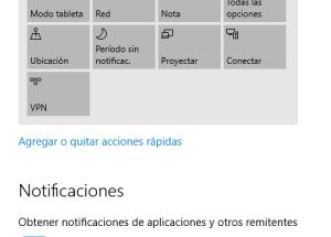 Cómo deshabilitar las notificaciones en Windows 10