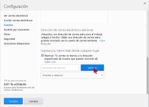 Cómo reenviar tus correos electrónicos de Yahoo a otra cuenta
